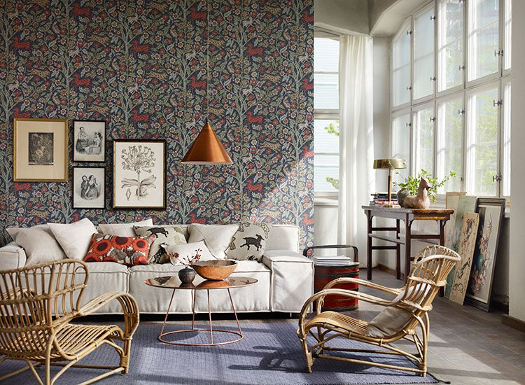 Why choose wallpaper over paint